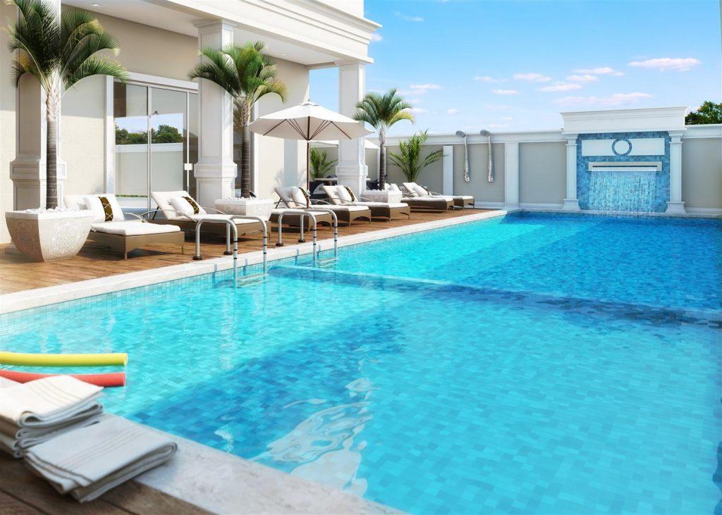 monaco residence piscina